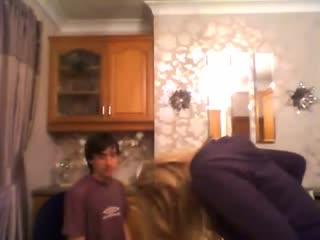 DJC [] - David talking to a bottle, Chrissy pissing herself. - YouTube (360p)