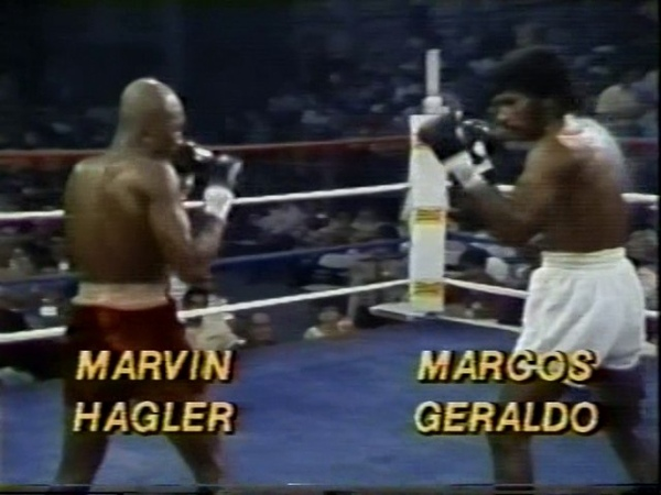 Marvin Hagler vs Marcos Geraldo (II)