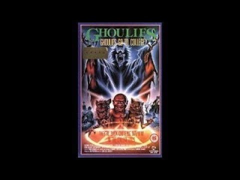 Los Ghoulies van a la universidad Castellano 1991