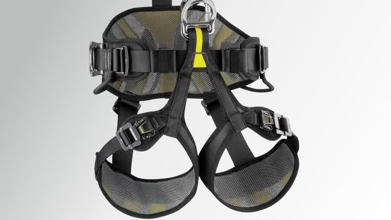 2018 Petzl AVAO BOD FAST fall arrest, work positioning and suspension harness