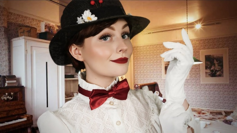 ASMR Mary Poppins Roleplay Soft singing Personal Attention
