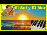 El Sol y El Mar # Classical Guitar muic # Classical Piano music RELAXATION ANTHI-STRESS STUDY MUSIC