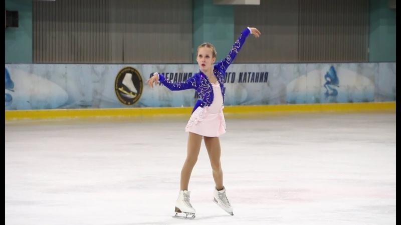Елизавета Берестовская, ПП (Elizaveta Berestovskaya, FS), 1сп, Призы магазина Фигурист 2018