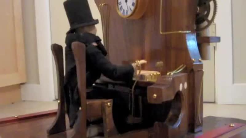 Steampunk Organ Player Automaton ТАВЕРНА STEAMPUNK