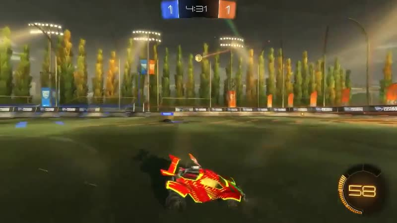 This is the most impressive rocket league clip I have ever seen
