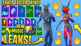 *NEW* All Leaked Fortnite Skins & Emotes..! *Easter Skins!* (Gemini Skin, Electro-Fied!..)