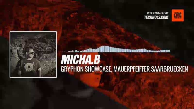 Micha B GRYPHON Showcase Mauerpfeiffer Saarbruecken Periscope Techno music
