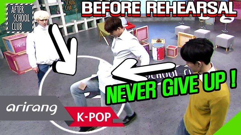 [AFTER SCHOOL CLUB] VAV before rehearsal (VAV 리허설 전 모습) _ HOT!