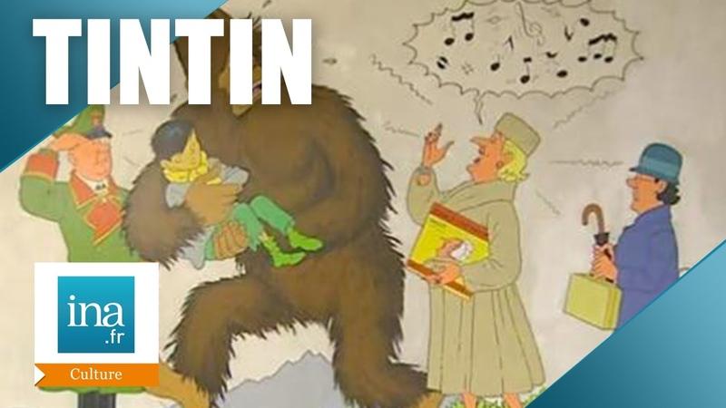 Les 75 ans de Tintin à Bruxelles Archive INA