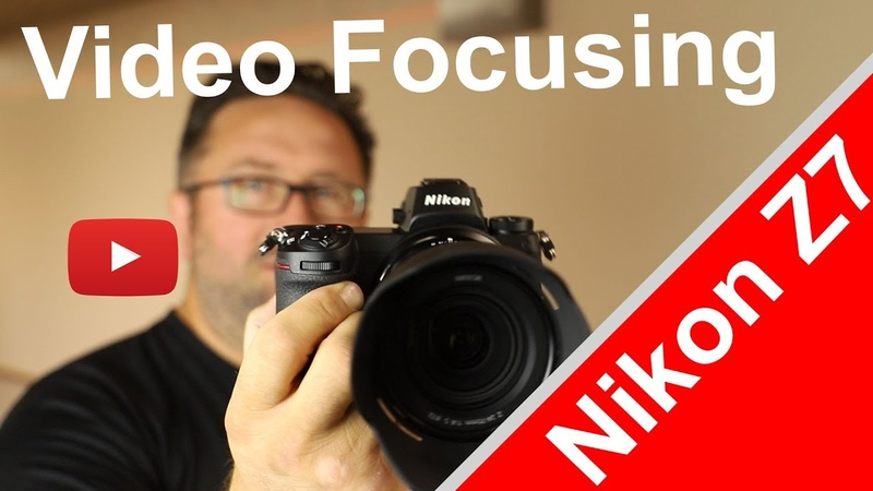 Nikon Z7 Face Tracking focusing for video test with kit lens 24-70mm and FTZ adapter