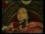 How to go above the agnya chakra - shree nirmala devi , sahaj yog, Christmas puja 2000