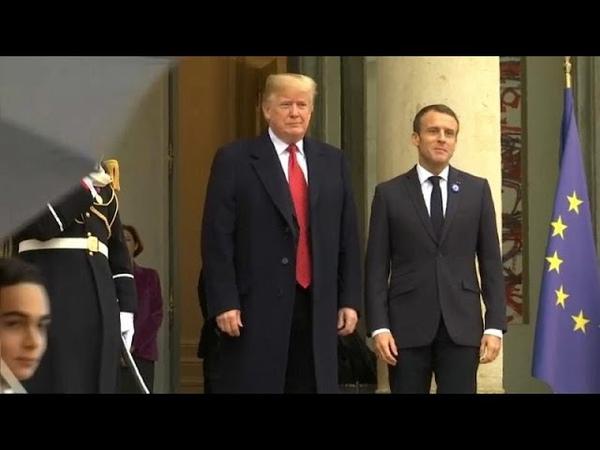 Макрон - Трампу: Франция США не вассал, а союзник