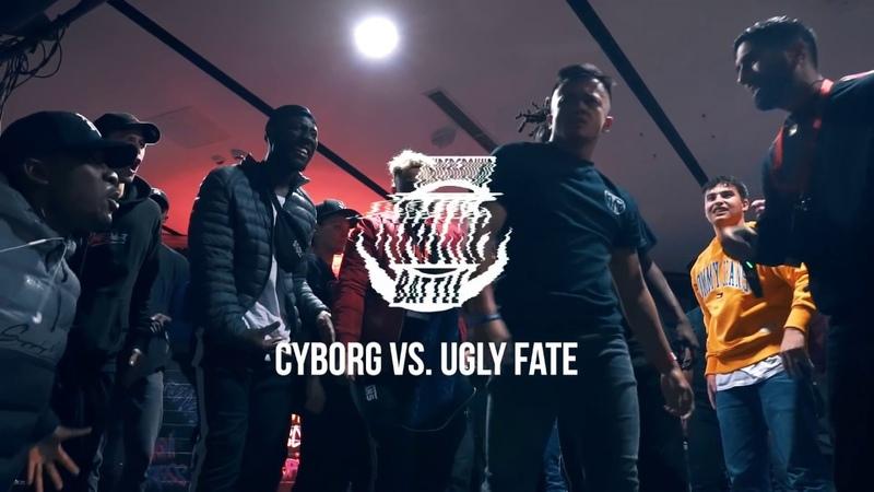 Cyborg vs Ugly Fate │ Male Final │ UNDERGROUND KRUMP BATTLE 2018