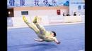 Men's lay fist 男子地躺拳 第2名 陕西 郑海涛 8.96分 shan xi zheng hai tao