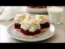Польский торт Малиновое облако с маскарпоне, малиновым желе, безе / Ciasto - Malinową chmurkę? Przepis Mąki Basia.