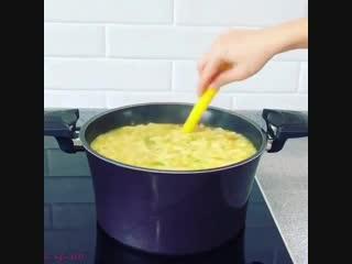 Вкусный обед-Суп с клецками