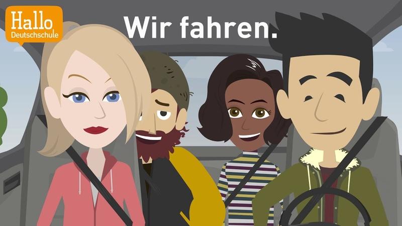 Deutsch lernen mit Dialogen Lektion 7 Was machst du am Dienstag Aussprache ch und sch