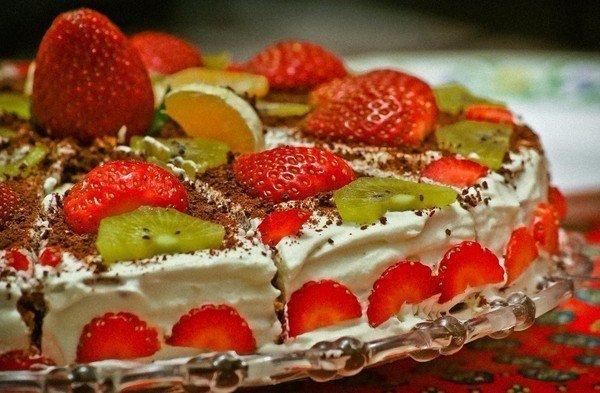 Рецепты вкусных домашних тортиков!