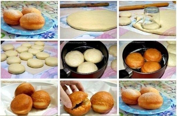 Самые вкусные пончики на завтрак!