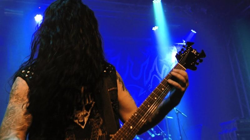 Krisiun Scourge of the Enthroned live in Essen 2018