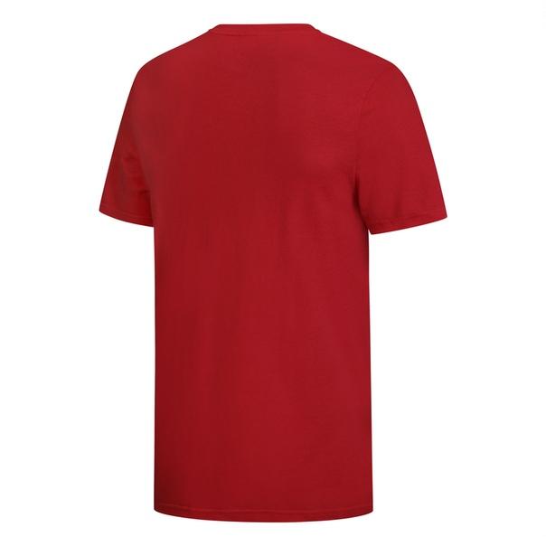 Футболка REEBOK CFG TEE M RED CTN