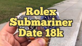 #1 Обзор Rolex Submariner Date 18K