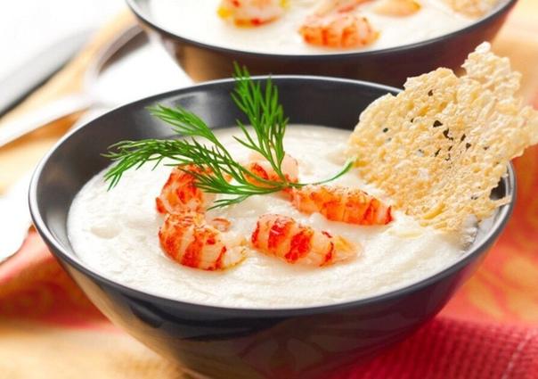 Лучшие рецепты сырных супов!