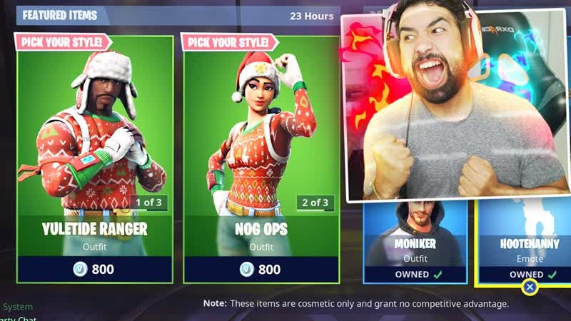 [Hollow] BUYING The Fortnite NOG OPS Skin..