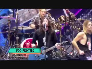 Foo fighters feet. rufus taylor on drums — under pressure (queen & david bowie cover )