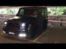 BRABUS G700 BLACK MATTE