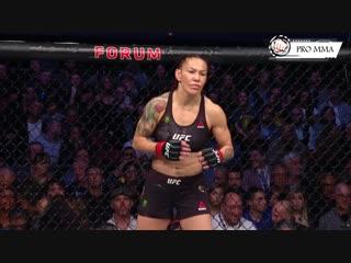 Аманда vs Крис на UFC 232