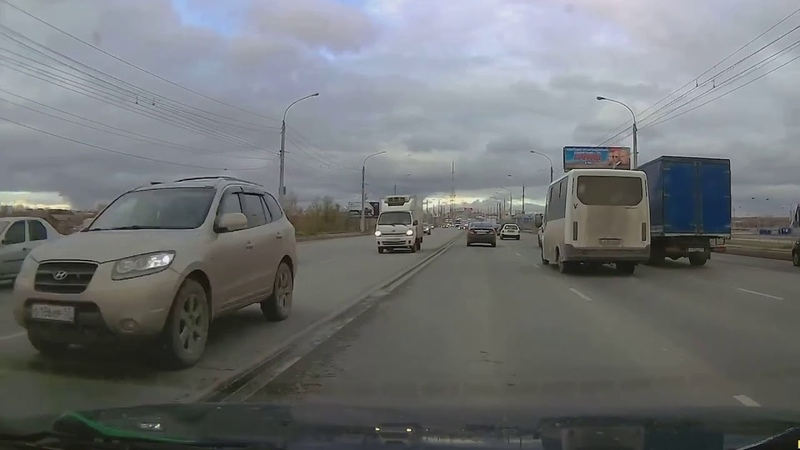 Грёбаные маршрутчики, Омск (10.11.2018)