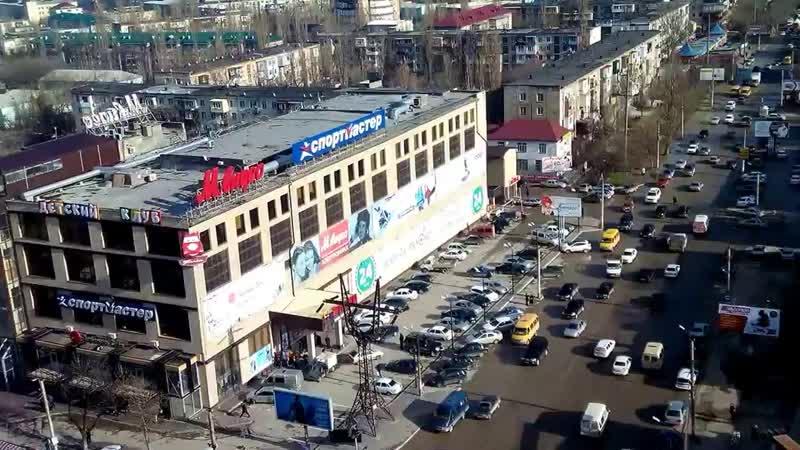 Вид на г. Махачкала с балкона 14 этажа