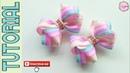 New Laço Formoso Fita N5 🎀 Ribbon Bow Tutorial 🎀 DIY by Elysia Handmade