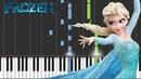 Disney's Frozen - Let It Go - Advanced Piano Tutorial SHEETS