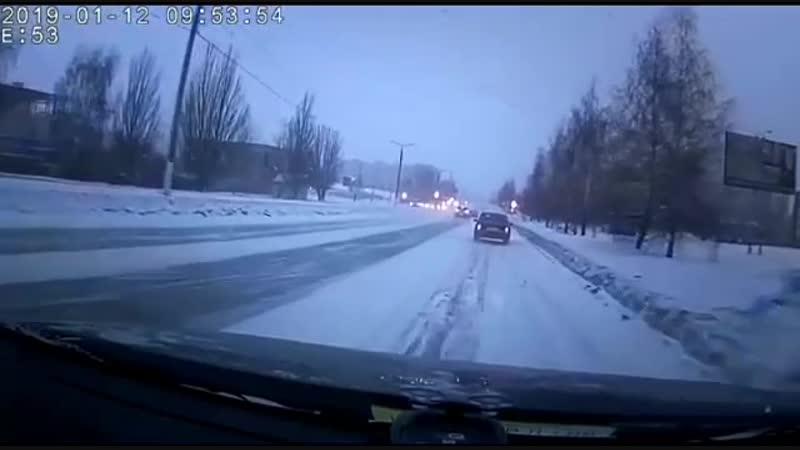 Случай на дороге, г. Октябрьский