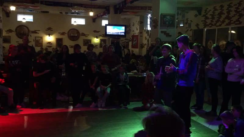 DanceElementFest Hip hop 2x2 1 8 Joody Ananasik vs Ilyich Russ win
