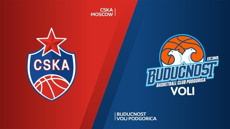 CSKA Moscow - Buducnost VOLI Podgorica Highlights | Turkish Airlines EuroLeague RS Round 21. Евролига. Обзор. ЦСКА - Будучность