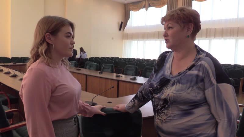 Министерство Экологии Челябинской области Встреча с Мариной Валерьевной Дымовой