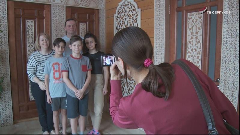 Сотрудники опеки и попечительства навестили многодетную приёмную семью в деревне Ивантеево