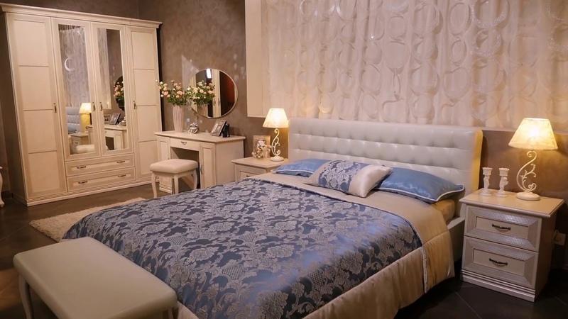 Спальня из коллекции Адажио от мебельной компании Ангстрем