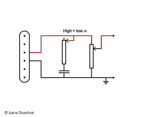 Basic Guitar Electronics I - Volume and tone control