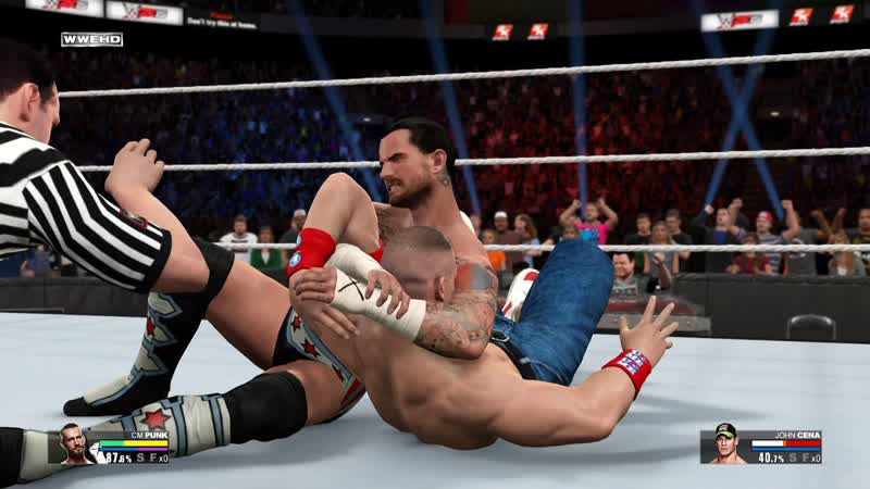 WWE 2K15 - CM Punk vs. John Cena - WWE Championship- Summerslam (Gameplay)