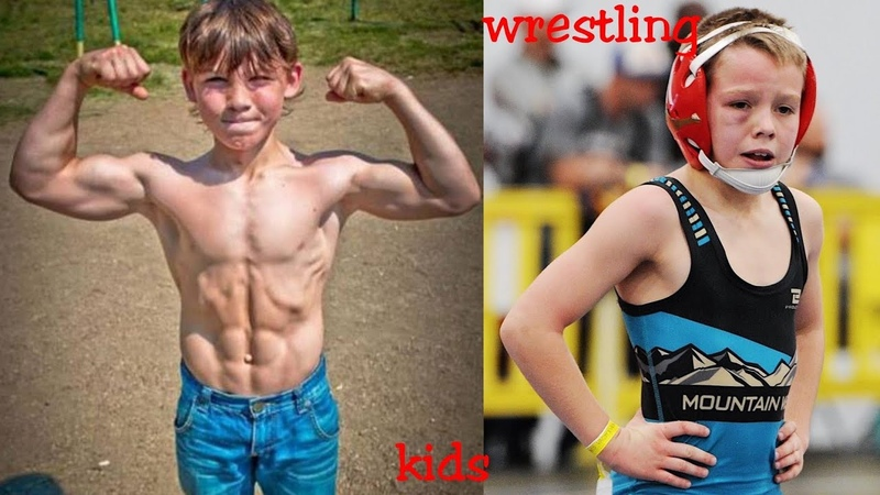 Russian wrestling kids workout for speed and power to be olympic champion