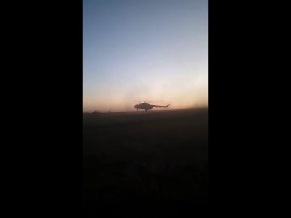 Відео з місця падіння військового літака на Вінниччині