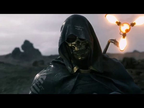 Death Stranding TGS 2018 Trailer - Man in the Golden Mask (ENG JP Dub)