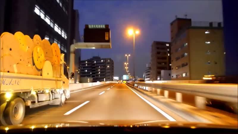 Auto trip on amazing Japaneez roads