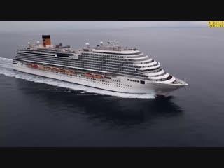 Обзор лайнера Costa Diadema компании Costa Cruises от FOUR GATES UKRAINE.mp4