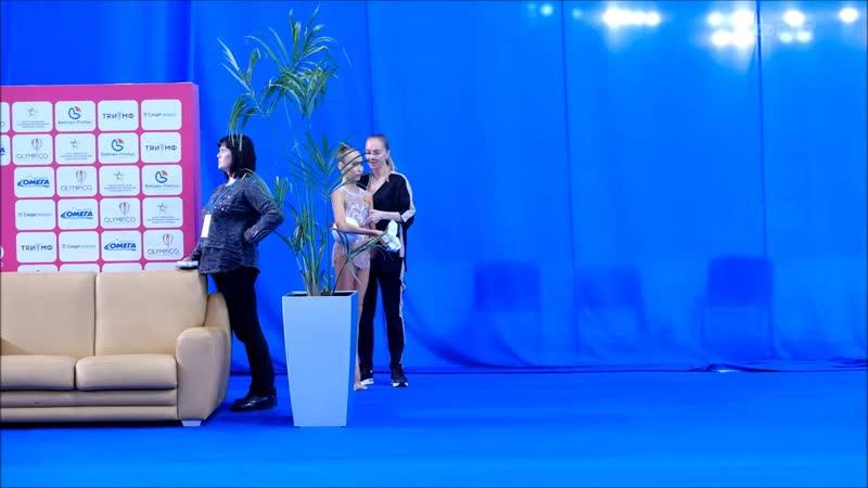Гимнастка: Александра Скубова - Тренер Скалдина Оксана Валентиновна