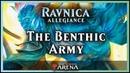 The Benthic Army a Merfolk Deck Ravnica Allegiance Standard Magic Arena